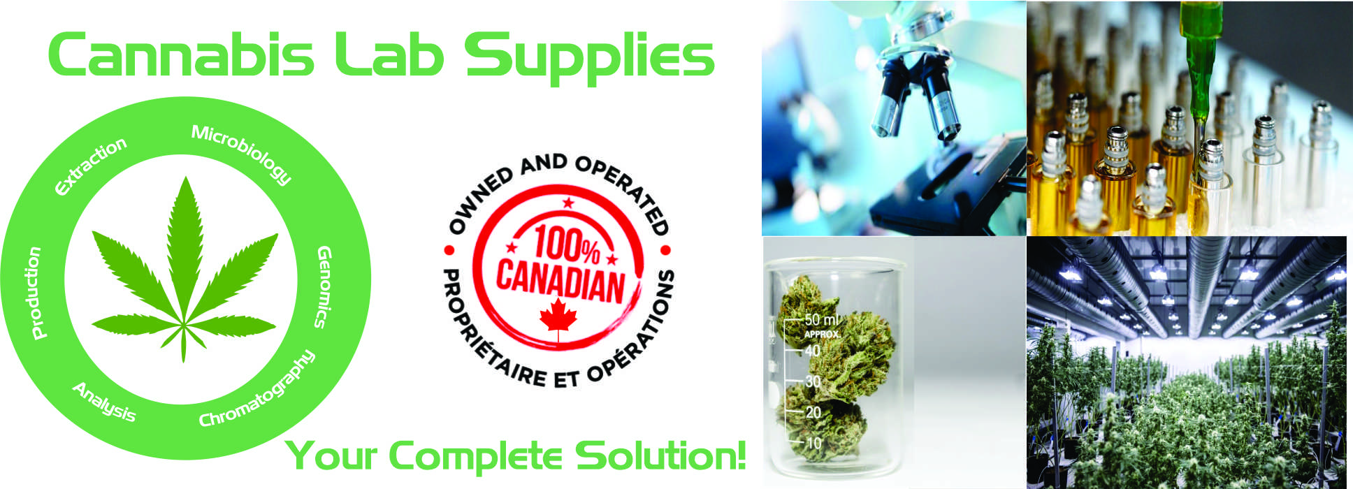 Cannabis Lab Supplies