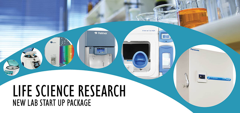 LIFE SCIENCE RESEARCH NEW LAB START UP PACKAGE